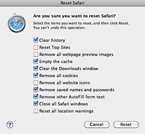 How to resolve 'Safari 5 fails to access GMAIL' step#2