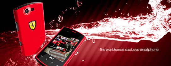 ACER Ferrari Liquid E smartphone 544px