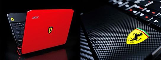 ACER Ferrari One netbook 544px