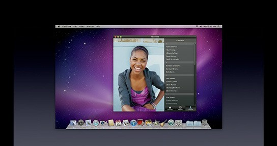 Apple FaceTime for Mac 544px