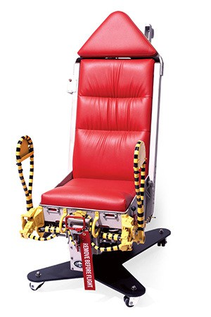 Motoart's B52 Ejection Chair