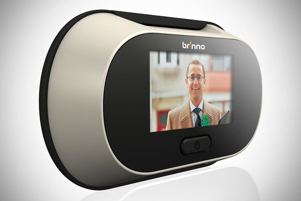 Brinno PeepHole Viewer – look who's knocking?