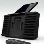 Eton Soulra solar-powered iphone/ipod speaker dock
