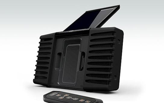 Eton Soulra Solar-powered iPhone/iPod portable speaker dock 544px