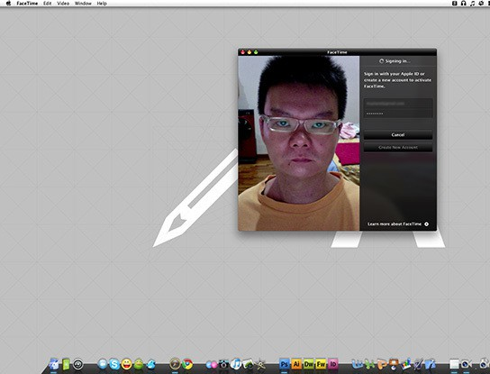 FaceTime Beta test - setting up process 544px