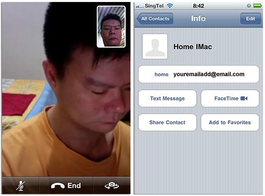 FaceTime Beta test - iPhone calls iMac 544px
