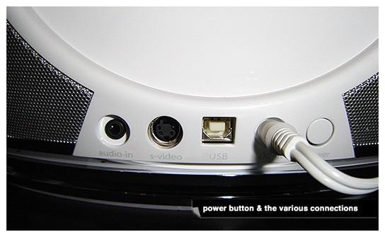 JBL Radial iPod speaker dock - connectivity 544px