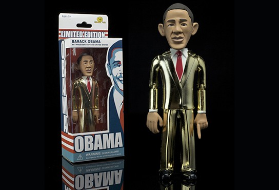 Jailbreak Toys Barrack Obama Action Figure GOLD 544px