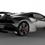 Lamborghini Sesto Elemento Concept - rear angled view 800x500px