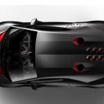 Lamborghini Sesto Elemento Concept - top view 800x500px