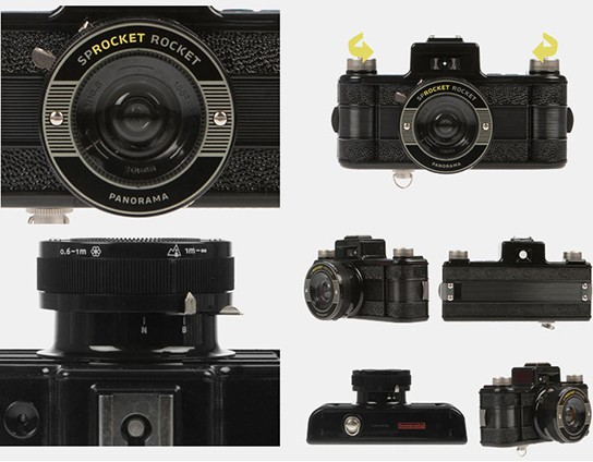 Sprocket Rocket Camera : Unleash your desire for sprockets with lomography sprocket rocket