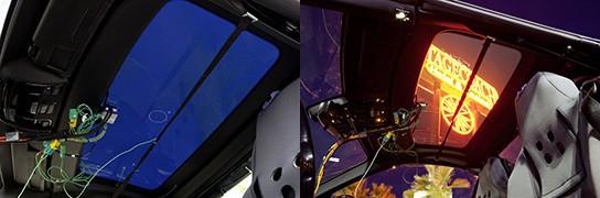 panoramic vario-roof testing on SLK-Klasse 544px
