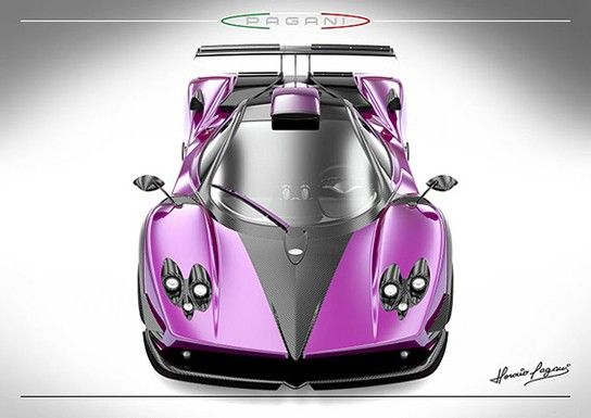 Limited Production Pagani Zonda 750 544px