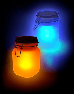 Solar Sun Jar