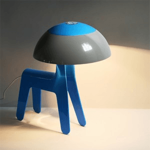 Touch Sensitive Dog Lamp
