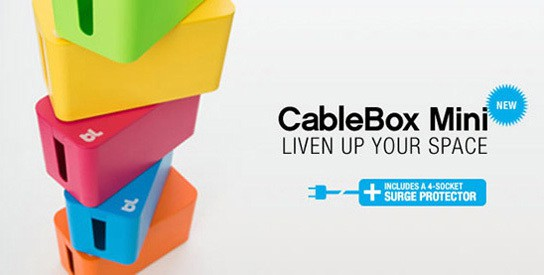 CableBox Mini - cable management box 544px
