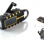 Scorpion multi-purpose solar-powered digital weather radio