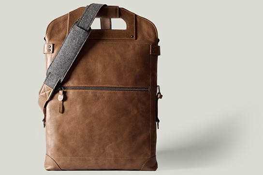 Hard Graft 2UNFOLD multi-use laptop bag 544px