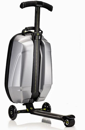 micro scooter Samonite luggage