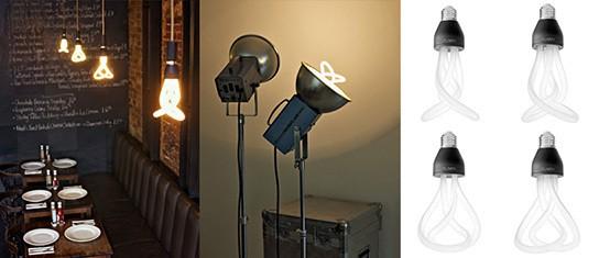 Hulger Plumen 001 - designer light bulb 544px