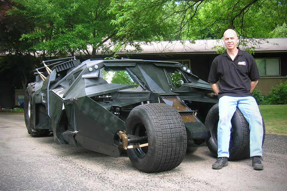 Real-life Batmobile Tumbler That Actually Drives