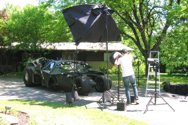 real-life batmobile Tumbler that actually drives - Bob Dullam Tumbler