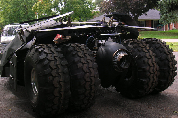 real-life batmobile Tumbler that actually drives - Bob Dullam Tumbler