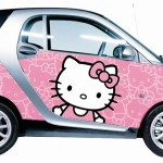Smart announced Hello Kitty wraps for Smart Fortwo