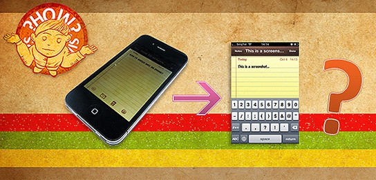How to take screenshots on iPhone 544px