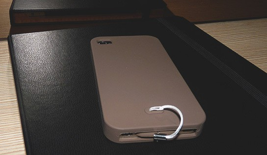 Simplism Silicon iPhone case - back 544px
