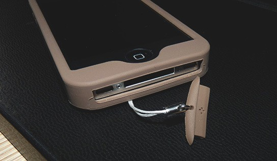 Simplism Silicon iPhone case - dock protector 544px