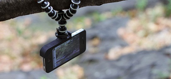 the glif - iPhone tripod mount & stand 544px