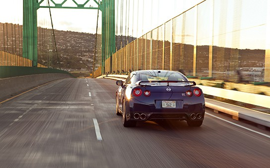 2011 Nissan GT-R Rear 544px