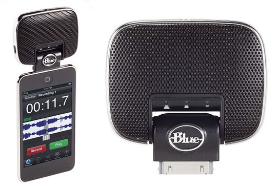Blue Microphones Mikey 2.0 iPod Recording Microphone 544px