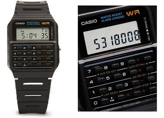 Casio Calculator Watch 544px