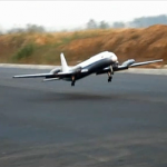 China largest hand-built electric remote control aircraft maiden flight (video)