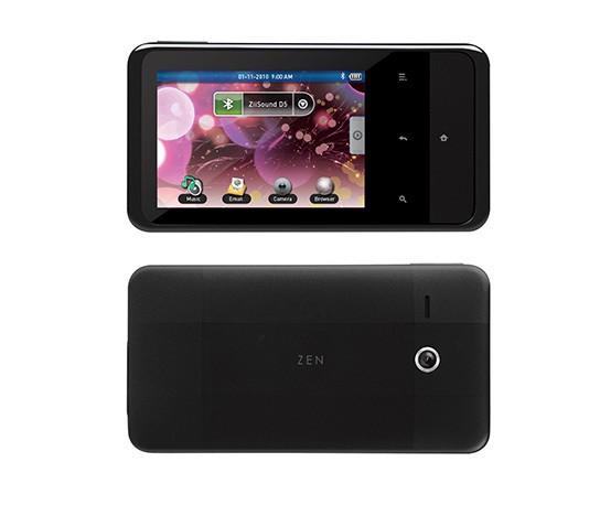 Creative ZEN Touch 2 Wireless Entertainment Device 544px