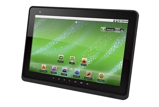 Creative ZiiO Pure Wireless Entertainment Tablet 10inch 544px