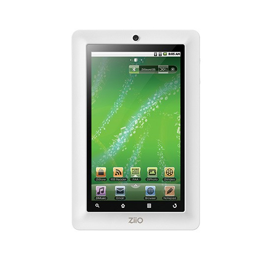 Creative ZiiO Pure Wireless Entertainment Tablet 7inch 544px