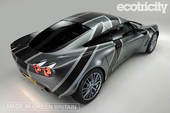 Ecotricity Nemesis Electric Supercar - rear 544px