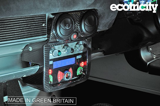 Ecotricity Nemesis Electric Supercar - interior