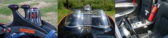 Fiberglass Freaks licensed replica batmobile - features 544px