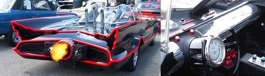 Fiberglass Freaks licensed replica batmobile