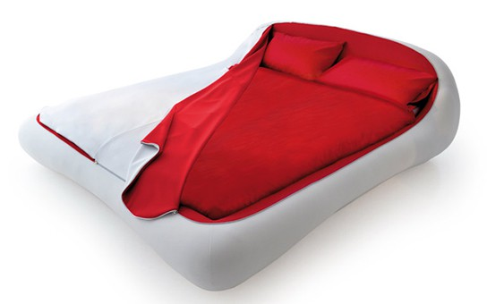 Florida Furniture Zip Bed - unzipping 544px