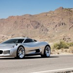 a peek into the future of automobile: Jaguar C-X75 hybrid concept