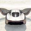 Jaguar C-X75 Concept Hybrid - rear view 544px