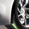 Jaguar C-X75 Concept Hybrid - custom Pirelli tires with F1-style wear indicato 544px