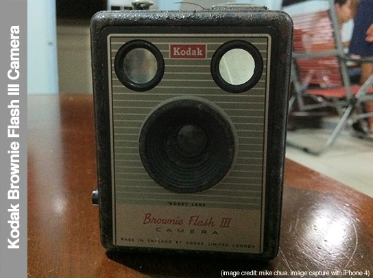 Kodak Brownie Flash III camera - front 544px