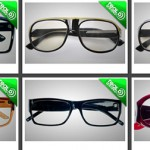 fashion statement with personal 3D glasses: LOOK3D glasses