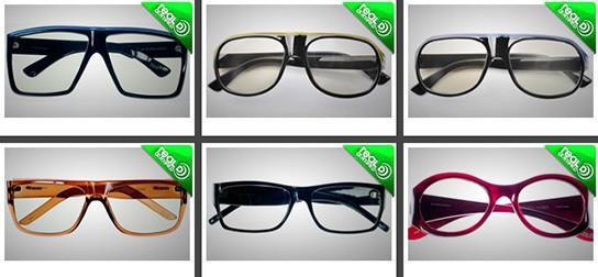 LOOK3D realD 3D glasses 544px
